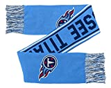 NFL Youth Boys Scarf-Dark Navy-1 Size, Tennessee Titans