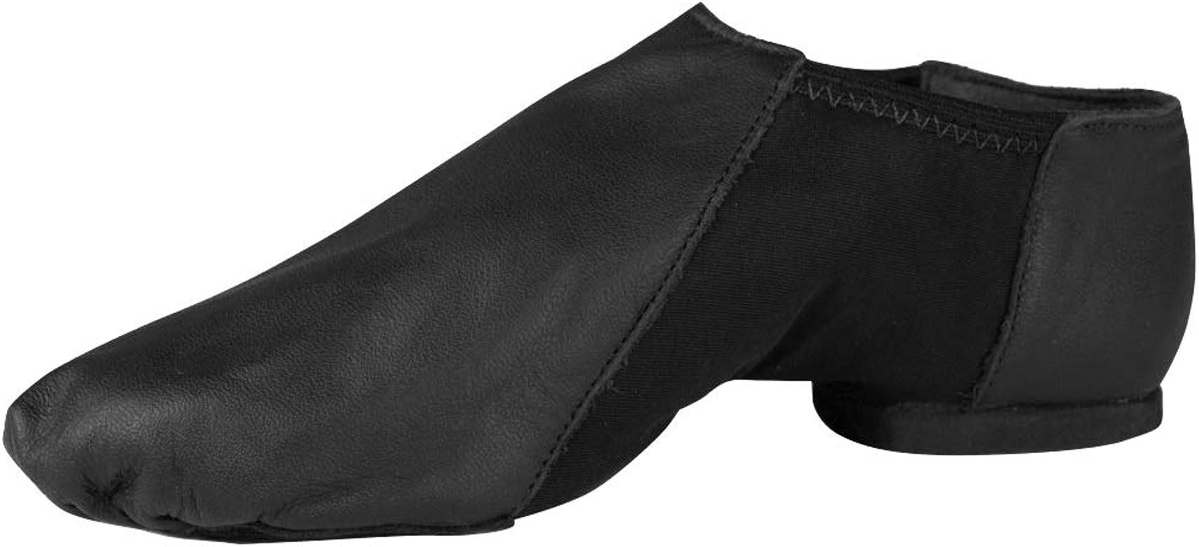 So Danca Slip On Leather Jazz Shoes