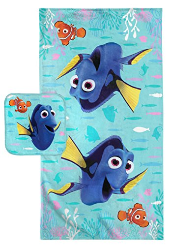 Disney/Pixar Finding Dory Cotton Bath Towel/Washcloth Set