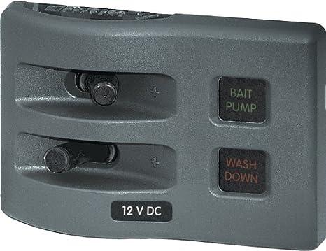 f6d59760aada Blue Sea Systems WeatherDeck 12V DC 2-Position Circuit Breaker Waterproof  Fuse Panel