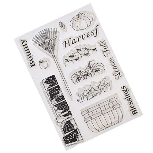 Cute Number Emoji Transparent Silicone Stamp Clear DIY Scrapbooking Craft Stamp