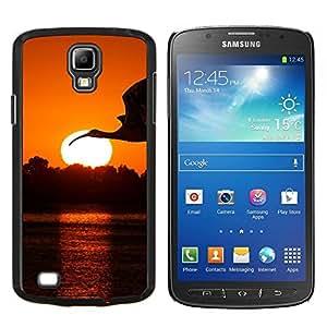 Stuss Case / Funda Carcasa protectora - Crane Cigüeña Sunset - Samsung Galaxy S4 Active i9295