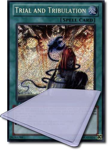 Yu Gi Oh! Single Card(1st Edition):GAOV-EN087 Trial And Tribulation(Secret Rare) by Greylight - Limited Greylight