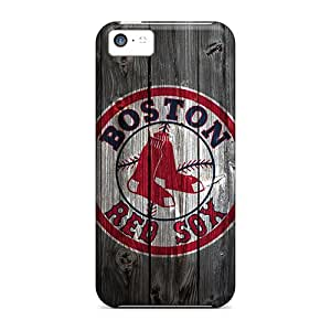 Defender Case With Nice Appearance (boston Red Sox Hd) For Iphone 5c