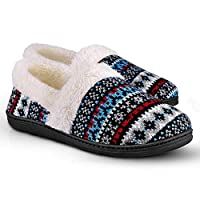 Homitem Women's Slip-On Knit Slippers Deals