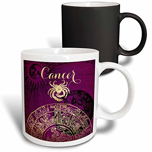 Sign Zodiac Horoscope Cancer (3dRose TDSwhite – Zodiac - Cancer Symbol Astrology Zodiac Sign Horoscope - 11oz Magic Transforming Mug (mug_269253_3))