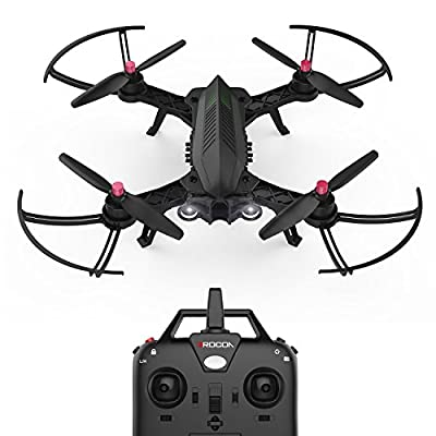 DROCON Bugs 6 Brushless Racing Drone 1806 1800KV Motors Pre-assembled RTF Quadcopter for Training (Upgradable to FPV Version) from MJX RC