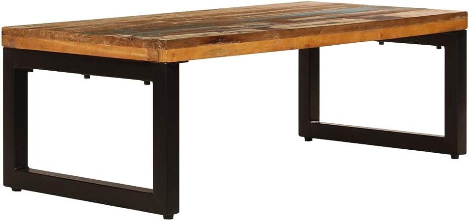 Retrome Table Basse Table D\'appoint Table de Salon 100x50x35 ...