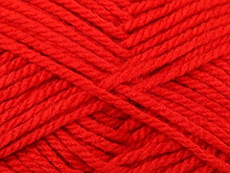 Image Unavailable. Image not available for. Colour  Robin Knitting Yarn  Chunky 0042 Cherry ... 1f5c10019