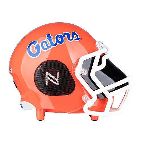 Nima Athletics NCAA Football Florida Gators Wireless Bluetooth Speaker. Officially Licensed Portable Helmet Speaker by NCAA College Football - Small