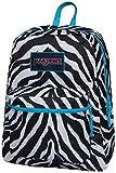 Jansport Overexposed Miss Zebra/Mammoth Blue T08W0CX