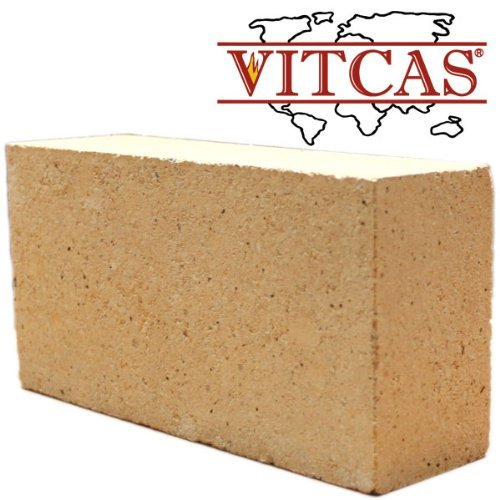 Fire Bricks-Replacement for Stoves & Fireplaces x 5 - Large by Vitcas