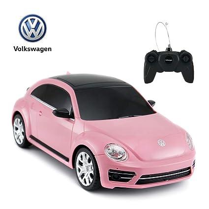 Amazon Com Beetle Remote Control Car Rastar 1 24 Scale Volkswagen