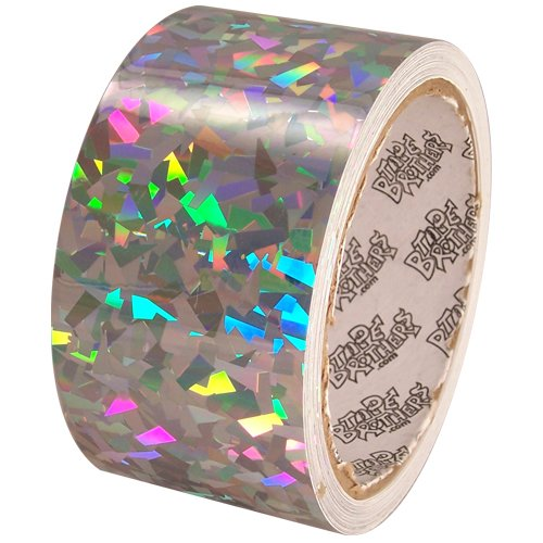 Holographic sparkle metallic glitter tapes