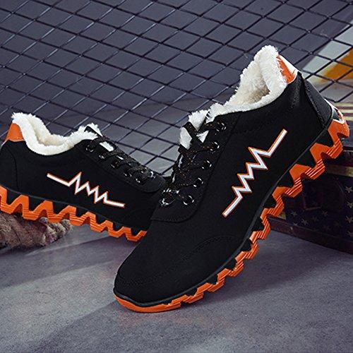 Casual Blue Outdoor BERTERI Green Backpacking Winter Shoe Sports Leisure Orange Orange Shoes Hiking Men's qxHpX4nHwB