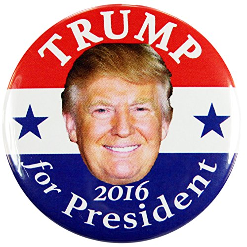 "2016 DONALD TRUMP for PRESIDENT CAMPAIGN BUTTONS, 2.25"" dtds"