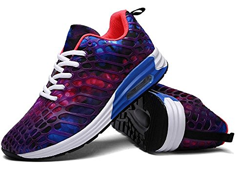 Fashion Athletic Lightweight Shoes Casual Road Breathable Running Mens Purple Womens Unisex Sneakers Lazutom Walking WTzF8pPqx
