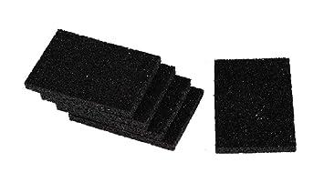 Gummi-Pads Unterleger für Gartenhäuser Auflagepads für Unterkonstruktion