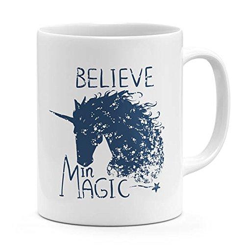 [Believe in magic unicorn mug fairly tail unicorn coffee mug best friends mug motivational quote mug gift for girls] (Dachshunds In Minion Costumes)