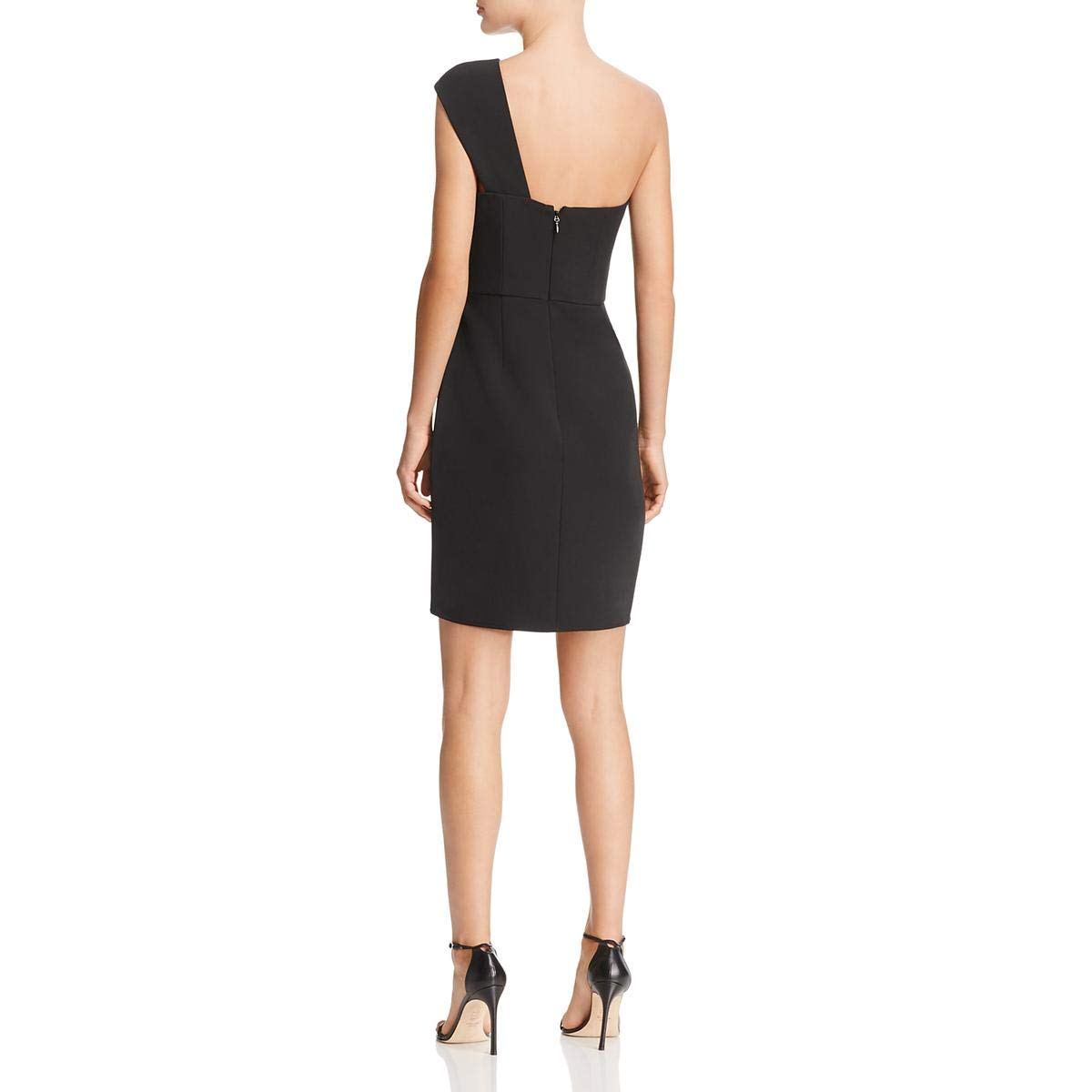 56228c54262 Amazon.com  BCBG Max Azria Womens Aryanna One-Shoulder Mini Cocktail Dress   Clothing