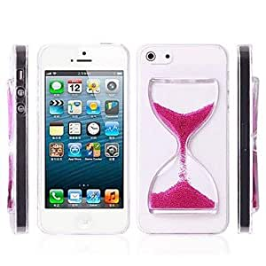 tubanliudongdong Hourglass Pattern Pc Hard Case for iPhone 5/5S , White