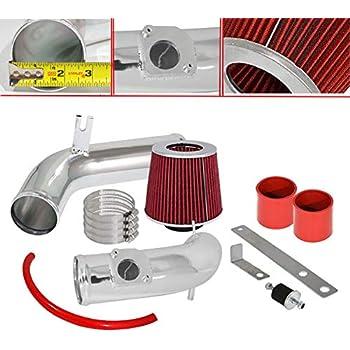 Black Red Cold Air Intake Kit /& Filter Set For 2003-2008 Mazda6 Mazda 6 3.0L V6