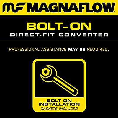 MagnaFlow 447185 Direct Fit Catalytic Converter (CARB compliant)