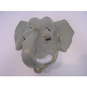 Los elefantes marinos del elefante de peluche Máscara Máscara de peluche de Elefante caja acústica de