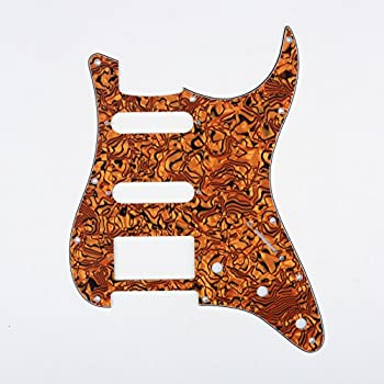 musiclily hss 11 holes strat electric guitar pickguard for fender us mexico made. Black Bedroom Furniture Sets. Home Design Ideas