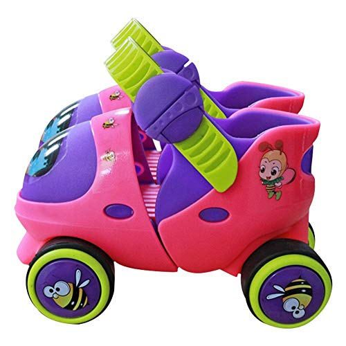 Windowew Roller Skates Indoor & Outdoor Skating for Children Kids Beginner 2-6 Years Old (Baby Skate)
