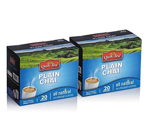 Chai Tea Latte - Plain Chai - 40 pouches - Black Plain Clam Shopping Results