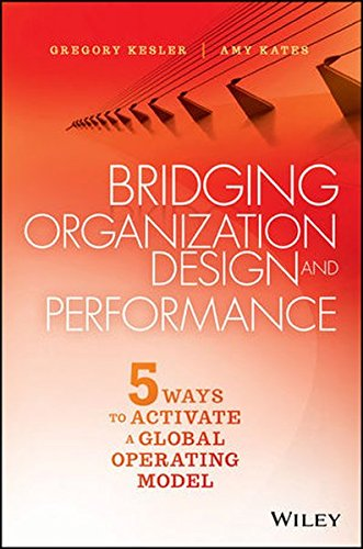 Bridging Organization Design and Performance: Five Ways to Activate a Global Operation Model