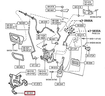 1998 Mazda B2500 Fuse Box Diagram - Wiring Diagram Schemas