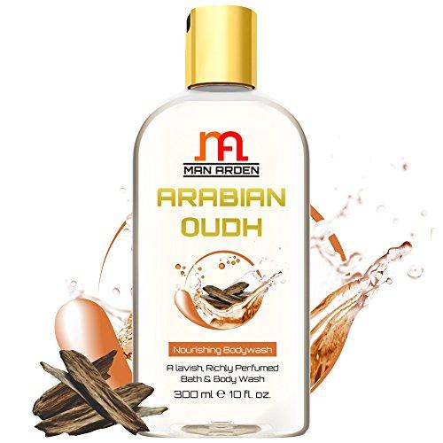 Man Arden Moisturising Arabian Oudh Body Wash - Lavish & Rich Shower Gel for Men and Women - - Men For Arden