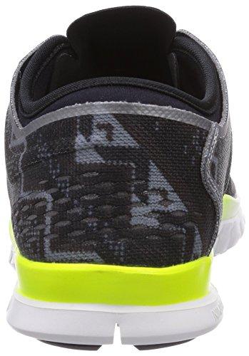 Nike Womens Free 5.0 Tr Fit 4 Stampa Nero / Avorio / Frassino Chiaro / Frassino Mdm