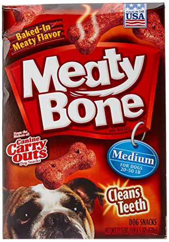 Meaty Bone Dog Biscuits, Medium, 22.5 Ounce
