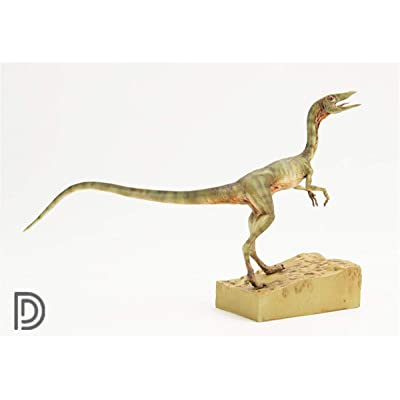 Dino Dream 1/5 Female Compsognathus Statue Coelophysidae Dinosaur Figure Jurassic Realistic Animal Model Collector Toys Decor Gift for Adult: Toys & Games