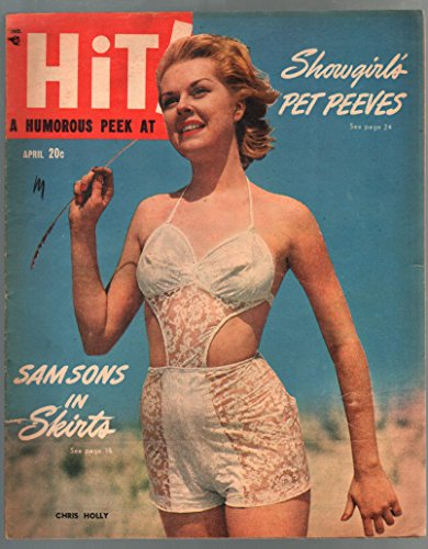 Hit! Annual #1 1944-pin-up girl cover-1st issue-WWII cheesecake pix-Ann ()