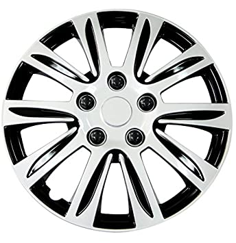 Pilot WH547-16S-B Universal Fit Premier Toyota Camry Style Silver 16 Inch Wheel Covers - Set of 4 Pilot Automotive