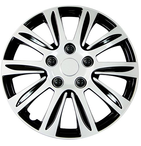 Pilot WH547-16S-B Universal Fit  Premier Toyota Camry Style Silver 16 Inch Wheel Covers - Set of (Style Wheels Set)