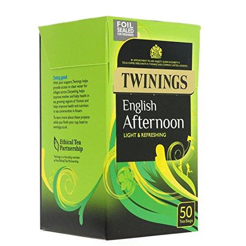 (2 Pack) - Twinings - Traditional Afternoon Tea | 50 Bag | 2 PACK BUNDLE