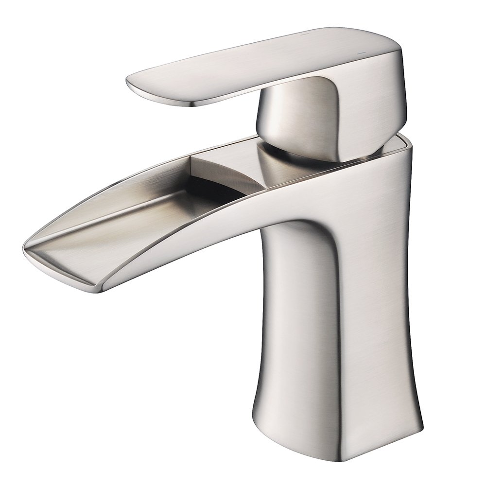 Fresca FFT3071BN Fortore Single Hole Mount Bathroom Vanity Faucet ...