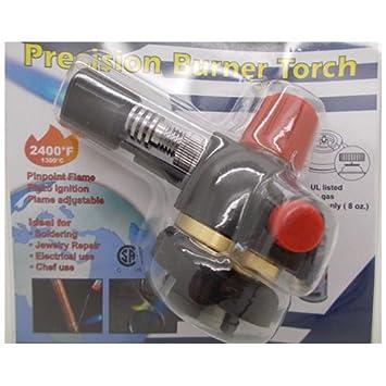 Simplemente plata - Precisión quemador antorcha llama ajustable 2400 F/1300 C soldadura reparación de joyería: Amazon.es: Electrónica