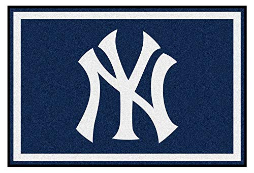 Large Team Rug - FANMATS 6962-RUG5X8 New York Yankees Nylon Face Plush Rug Team Colr 27