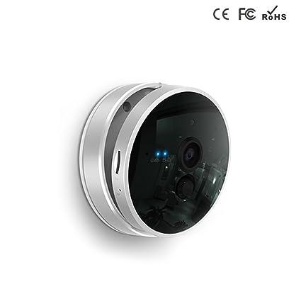 Leftek Cámara IP de vigilancia de seguridad inalámbrica con alarma y wifi