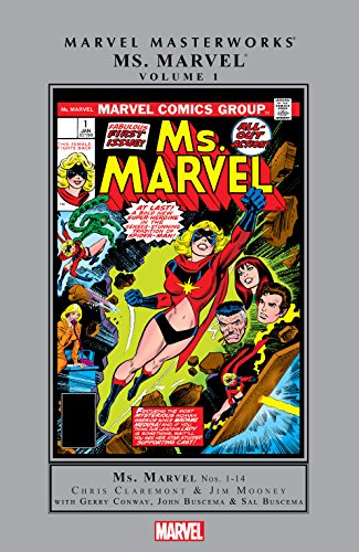 Ms. Marvel Masterworks Vol. 1 (Ms. Marvel (1977-1979)) by [Claremont, Chris, Mooney, Jim]