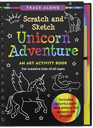 - Unicorn Adventure Scratch and Sketch: An Art Activity Book for Creative Kids of All Ages