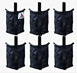 ABCCANOPY Premium Instant Shelters Weight Bags – Set of 6-40lb Capacity per Bag