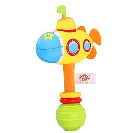amazemarket bebé dibujo animado peluche juguete suave mano Launch Barra Sonajero Calmante (de Bona hora