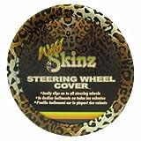 honda civic steer wheel - Plasticolor 006706R01 Leopard Wild Skinz Steering Wheel Cover
